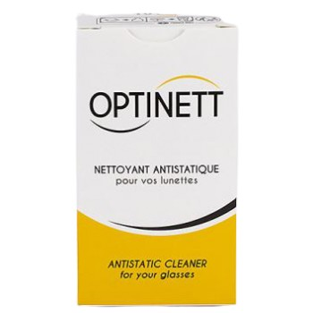 Optinet Tratamiento Antiestático Para Limpieza de Gafas 20Unidades