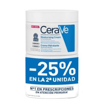 CeraVe Crema Hidratante Piel Seca a Muy Seca Pack 2x340ml
