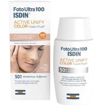Isdin Foto Ultra 100 Active Unify Color Fusion Fluid Corrige SPF50+ 50ml