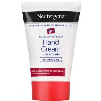 Neutrogena Crema de Manos Concentrada Sin Perfume Manos Secas y Agrietadas 50ml