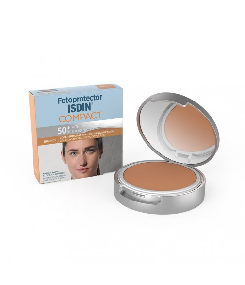 ISDIN FOTOP F50+ COMPACT BRONCE 10GR