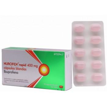 Nurofen Rapid 400mg Ibuprofeno 20 Cápsulas Blandas
