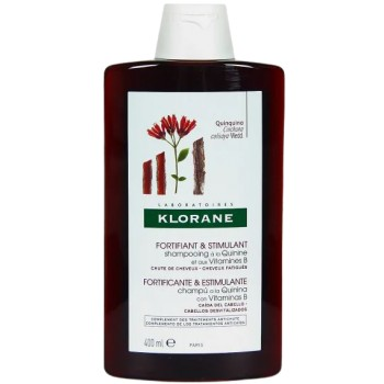 Klorane Champú a la Quinina con Vitaminas B Fortificante y Estimulante Anticaída 400ml