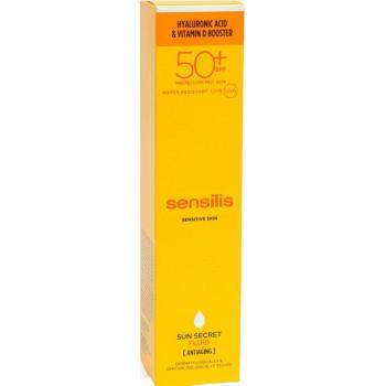 Sensilis Sun Secret Tratamiento Fluido Antiedad SPF50+ Resistente al Agua 50ml