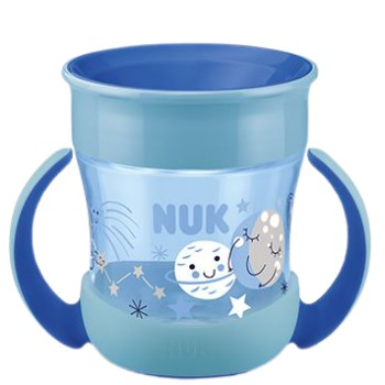 Nuk Mini Magic Cup Night Vaso de Aprendizaje con Asas +6 Meses 160ml