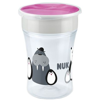 Nuk Magic Cup Baby Safary Vaso de Aprendizaje +8 Meses 230ml