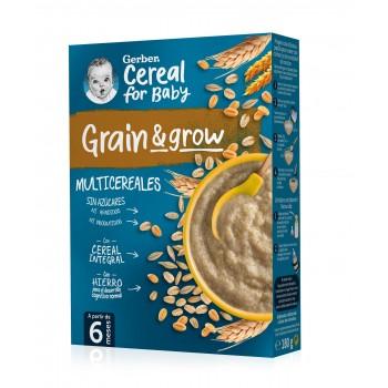 Gerber Grain & Grow Papilla Multicereales +6 Meses 250g