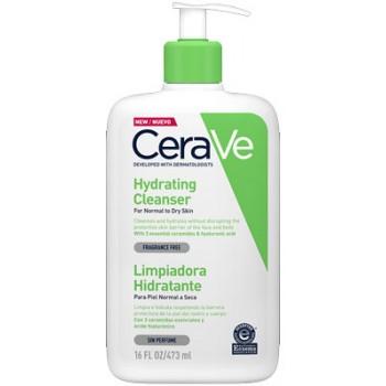 CeraVe Crema Limpiadora Hidratante Facial y Corporal Piel Normal a Seca 473ml
