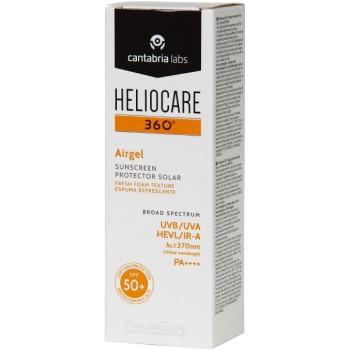 Heliocare 360º Airgel SPF50+ Fotoprotoprotector en Espuma Refrescante 60ml