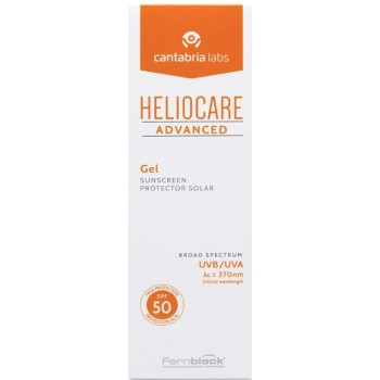 Heliocare Advanced Gel SPF50 Textura Gel Cara y Cuerpo 200ml