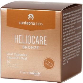 Heliocare Bronze Complemento Alimenticio 30 Cápsulas