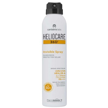 Heliocare 360º Invisible Spray SPF50+ Apto Pieles Sensibles 200ml