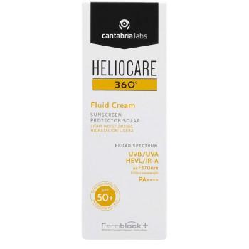 Heliocare 360º SPF50+ Crema Fluida Hidratación Ligera Pieles Normales o Secas 50ml