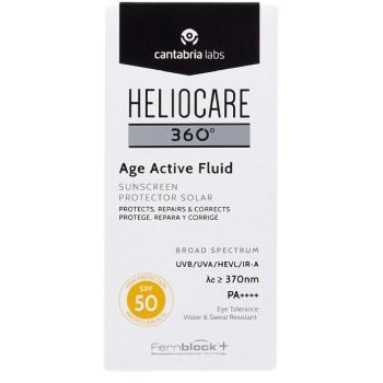 Heliocare 360º Age Active Fluid SPF50 Textura Ultraligera Todo Tipo de Piel 50ml