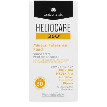 Heliocare 360º Mineral Tolerance Fluid SPF50 Pieles Sensibles Reactivas e Intolerantes 50ml