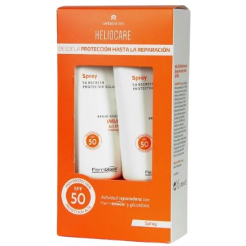 Heliocare Advanced SPF50 Spray de Crema Ligera Pack 2x200ml