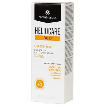 Heliocare 360º Gel Oil-Free SPF50 Toque Seco Piel Grasa Con Tendencia Acneica 50ml