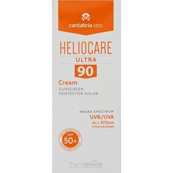 Heliocare Ultra 90 Crema SPF50+ Pieles Normales y Secas 50ml