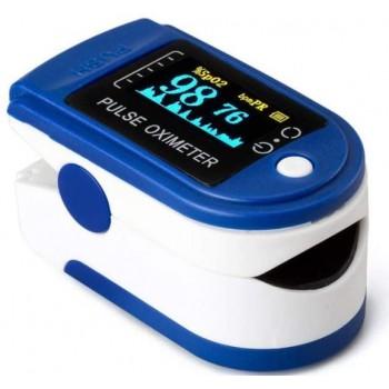 Pulsioxímetro de Dedo Oximeter HL-01 Color Azul