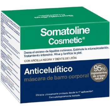Somatoline Anticelulítico Máscara de Barro Corporal 500g