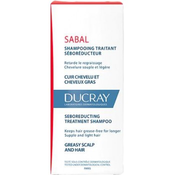 Ducray Sabal Champú Tratante Seborreductor 200ml