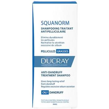 Ducray Squanorm Champú Tratante Anticaspa Caspa Grasa 200ml