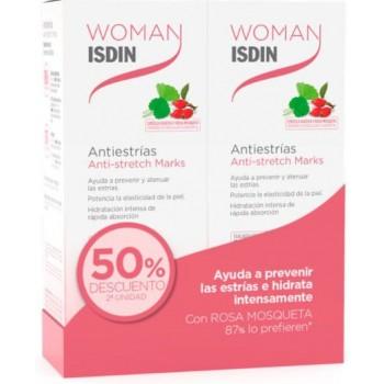 Isdin Woman Antiestrías Pack 2x250ml