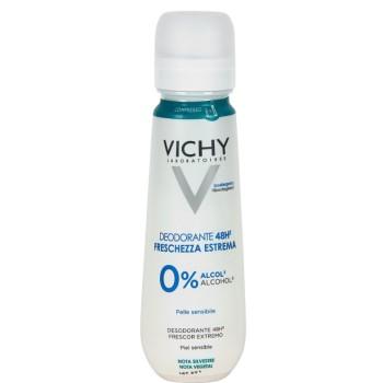 Vichy Desodorante Frescor Extremo 48H 0% Alcohol Piel Sensible Bruma 100ml