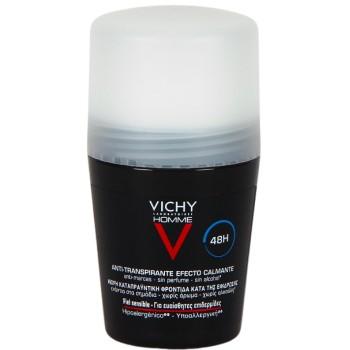 Vichy Hombre Desodorante Anti-Transpirante Efecto Calmante 48H Piel Sensible 50ml