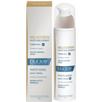 Ducray Melascreen Crema de Noche Manchas Oscuras y Arrugas 50 ml