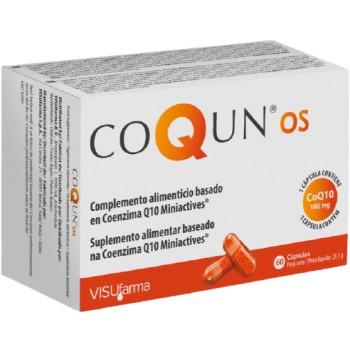 Coqun OS Complemento Alimenticio Basado en Coenzima Q10 100mg Miniactives 60 Cápsulas