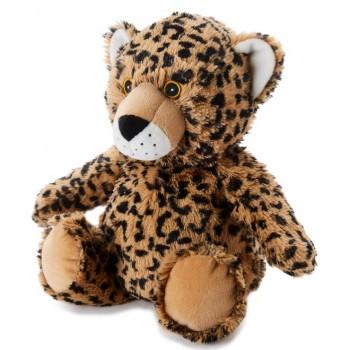 Warmies Leopardo Peluche Suave y Térmico Frío Calor