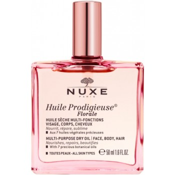 Nuxe Prodigieux Florale Aceite Seco Multi-Usos Facial Corporal y Capilar 50ml