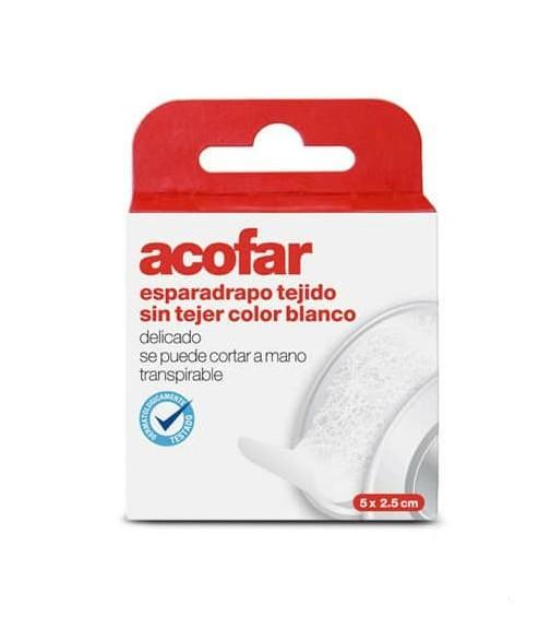 ESPARADRAPO ACOFAR PAP BCO 5X2.5