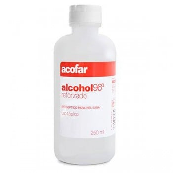 Alcohol 96º Acofar 250ml