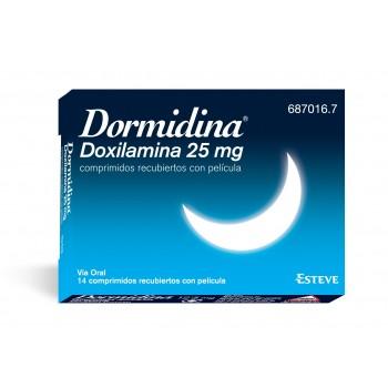 Dormidina Doxilamina 25 mg 14 comprimidos