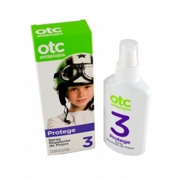 OTC 3 Piojos Spray Protege 125 ml