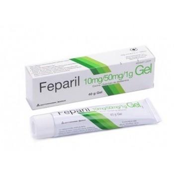 Feparil 10mg/g + 50mg/m Gel, 1 tubo de 40 g