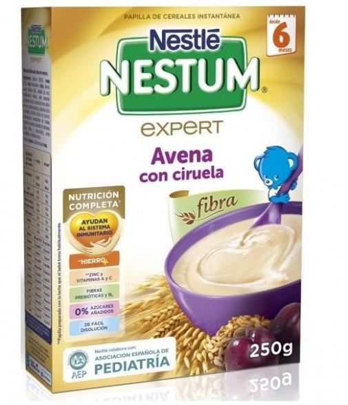 NESTLE NESTUM  EXPERT CEREALES DE AVENA CON CIRUELA  250 GR