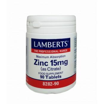 Zinc Citrato Lamberts