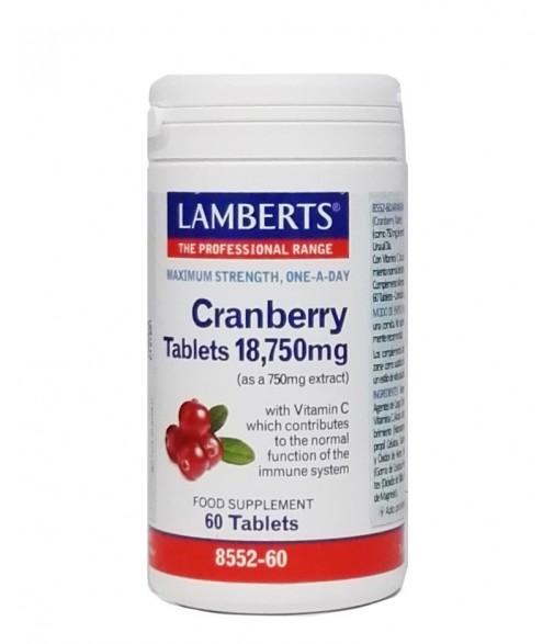 Lamberts Cranberry 60 comprimidos