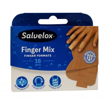TIRITA SALVELOX FINGER MIX 18 unidades
