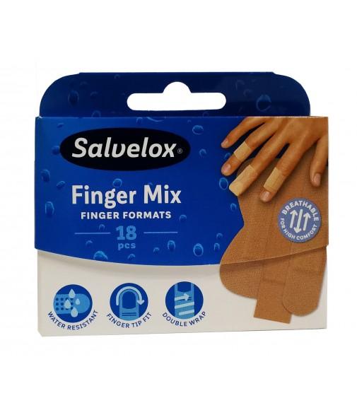 TIRITA SALVELOX FINGER MIX 18 unidades