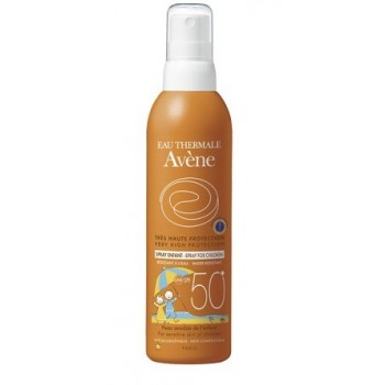 AVENE SOLAR FACTOR 50 infantil pediátrico SPRAY 200 ML.