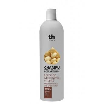 Th Pharma Champú Leche de Macadamia y Karité (cabello coloreado seco y maltratado)