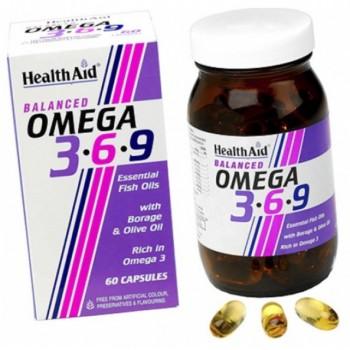 Health Aid Omega 3-6-9 60 cápsulas