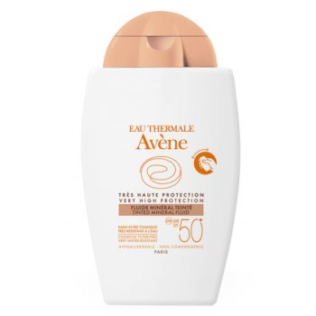AVENE SOLAR FLUIDO MINER COLOR F50+, 40ML
