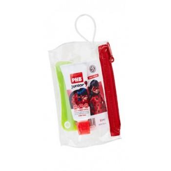 phb kit junior cepillo + pasta (cepillo y pasta de viaje (15ml) para + 6 años)