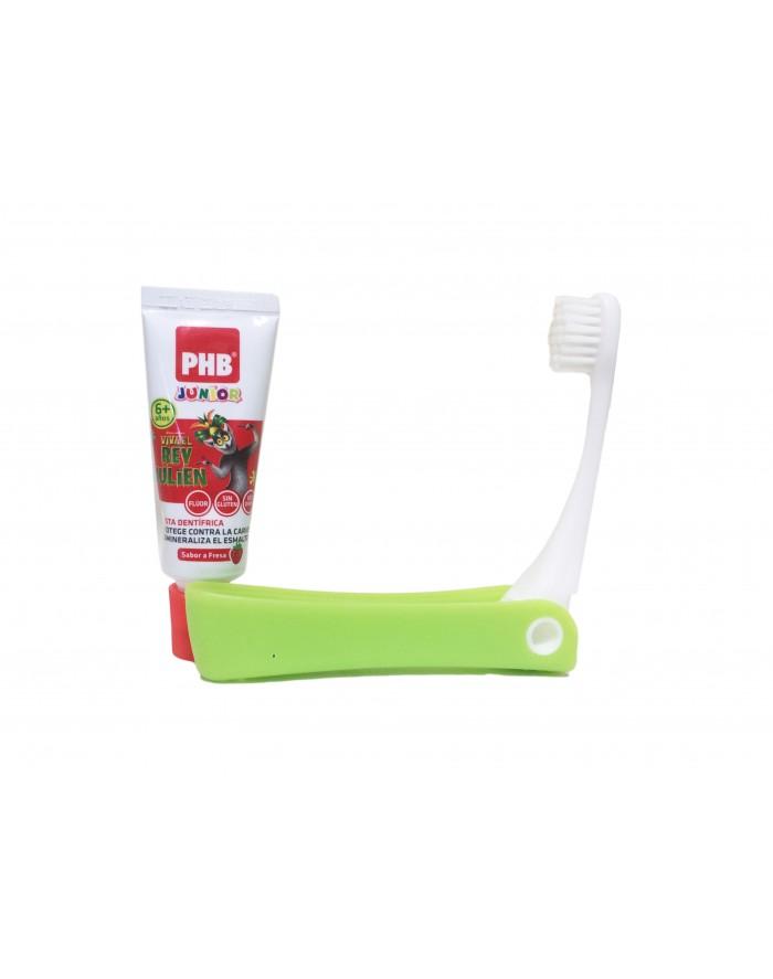 ... phb kit junior cepillo + pasta (cepillo y pasta de viaje (15ml) para d8c8104723b1