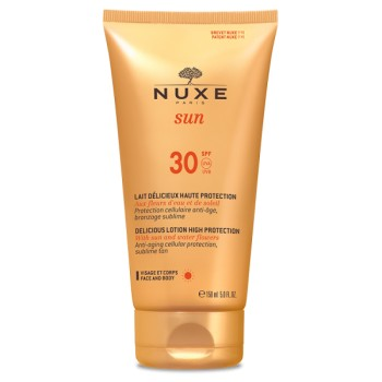Nuxe sun lait delicieuse haute protection spf30